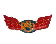 """REO SPEEDWAGON vintage enamel pin rock and roll badge love song by VintageTrafficUSA  21.00 USD  A vintage REO SPEEDWAGON pin! Excellent condition. Measures: approx 1"""" 20 years old hard to find vintage high-quality cloisonne lapel/pin. Beautiful die struck metal pin with colored glass enamel filling. --------------------------------------------  SECOND ITEM SHIPS FREE IN USA!!! LOW SHIPPING OUTSIDE USA!!  VISIT MY STORE FOR MORE ITEMS!!! http://ift.tt/1PTGYrG  FOLLOW ME ON FACEBOOK FOR SALE…"""