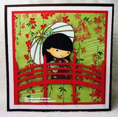 Ayako  **** Sister Stamps & Washi Paper  available from www.HankoDesigns.com ****