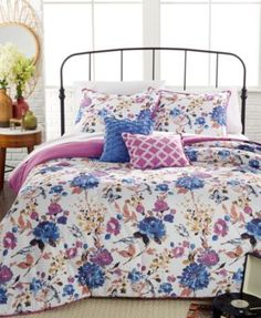 104 X 88 Cal King Comforter KESS InHouse Pom Graphic Design Artisian Pink Teal King