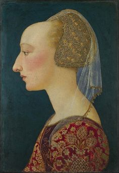 Portrait of a Lady in Red probably 1460-70, Italian, Florentine