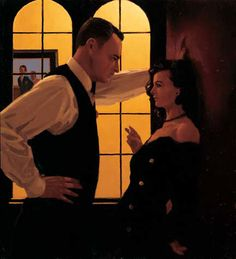 Jack Vettriano = Jack Vettriano OBE born Jack Hoggan, is a Scottish painter. His 1992 painting, The Singing Butler, became a best selling image in Britain.  Born: November 17, 1951 (age 61), Methil, Fife, United Kingdom Period: Contemporary art Education: University of St Andrews Artwork: Bluebird at Bonneville, After The Thrill Is Gone, More