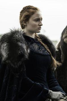Sophie Turner as Sansa Stark in Game of Thrones