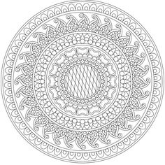 """This is """"Midnight Meadow"""", a coloring page for you to print, color, and share. :) https://mondaymandala.com/m/midnight-meadow?utm_campaign=sendible-tw&utm_medium=social&utm_source=pinterest&utm_content=midnight-meadow"""