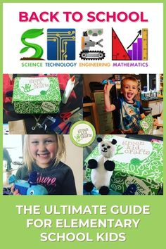By giving our kids the tools they need to succeed in STEM, we are giving them a huge leg up as they enter the job market. Get your kids started with STEM now with this STEM Guide for Elementary School Kids so that they'll do amazing things later. #STEM #scienceforkids #backtoschool #greenkidcrafts