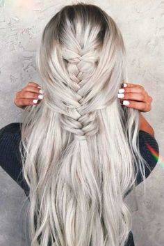 Ash Blonde This darker shade of blonde is a good choice for those with darker skin and eyes. It can be softened with subtle buttery highlights to match any skin tone and is recommended for hair that is starting to go gray.