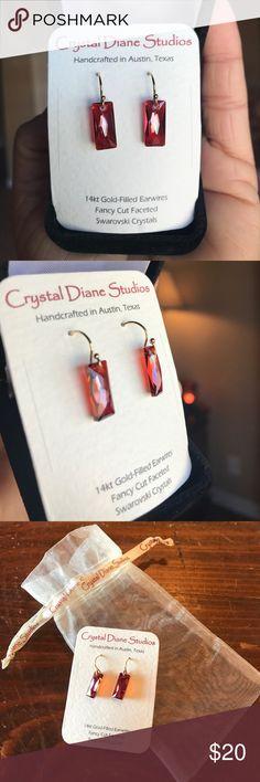 Crystal Diane Studios Swarovski Crystal Earrings Crystal Diane Studios Swarovski Crystal Earrings Crystal Diane Studios Jewelry Earrings