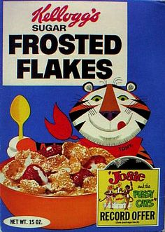 Frosted Flakes...with Josie and The Pussycats record offer!