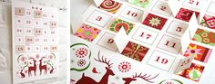 Printable Advent Calendar PDF