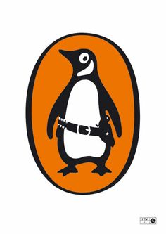 i just love this - penguin logo with a twist