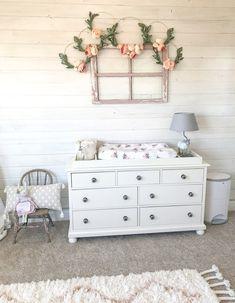 Baby Girl Boho Woodland Nursery - Farmhouse Blooms