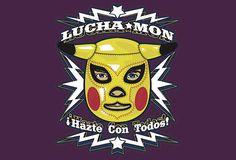 Luchamon T-Shirt Designed by helljester