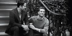 T&Co. features its first same-sex couple engagement ad. This is a real couple, too. How handsome are they both?!