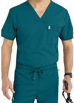 Code Happy Men's V-neck Scrub Tops With Certainty Greys Anatomy Men, Medical Uniforms, Men In Uniform, Scrub Tops, V Neck Tops, Scrubs, Shop Now, Dr Daniel, Shirt Dress