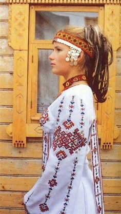 Bulgarian woman from Volga Bulgaria