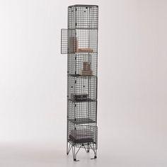 Colonne de rangement 4 étagères, métal, Rakke La Redoute Interieurs