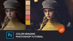 Photoshop Youtube, Photoshop Presets, Photoshop Tutorial, Adobe Photoshop, Color Grading Photoshop, Camera Raw, Photo Credit, Ps, Tutorials