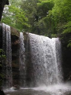 Cucumber Falls in Ohiopyle State Park.. One of my favorite places.