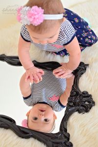 6 Month Old- Mirror Image Photo 6 Month Photos, Valentines Day Photos, 6 Month Olds, Mirror Image, 6 Months, Photography, 6 Mo, Photograph, Fotografie
