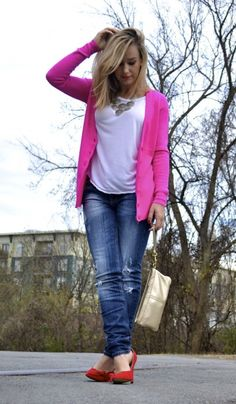 cute pink blazer. outfit. clothes