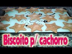 """DIY: Como fazer biscoito para cachorros """"Cookies for Dogs"""" - YouTube"""