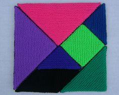 Gehaakte tangram