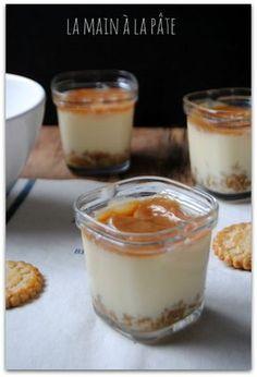 Cheesecakes au caramel au beurre salé à cuire dans la yaourtière multi-délices ou au four.