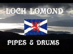LOCH LOMOND ~ PIPES & DRUMS OF LEANISCH. - YouTube