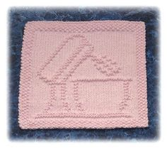 Stand Mixer Dishcloth pattern by Rachel van Schie