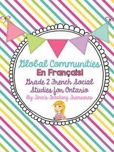 French Global Communities for Grade 2 Ontario NEW social studies curriculum! ****All student pages in French- teachers notes pages in English* ******This unit is designed to help your young learners begin using the inquiry approach. Social Studies For Kids, Social Studies Curriculum, Kindergarten Social Studies, Teaching Social Skills, Inquiry Based Learning, Student Teaching, Teaching Science, Social Science, Teaching Resources
