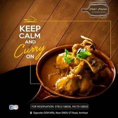 Hotel Crown Palace served the best Chicken Curry in town. Hot appropriately spiced and yummy. Come and treat yourself to this fine chicken dish. Food Design, Food Graphic Design, Food Poster Design, Menu Design, Design Design, Texas Chili, Social Design, Banner Design Inspiration, Beste Brownies