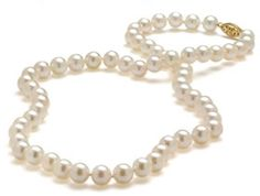 Pearls, pearls, pearls . . . necklaces, strands of different sizes, earrings, rings, bracelets, pendants . . . pearls
