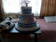 Hey Diddle Diddle Diaper cake