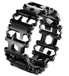 This Leatherman Bracelet Puts 25 Tools On Your Wrist - seems like an event planner must have!