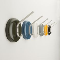Perfect for hanging up your coat and hat at the end of a busy day, our City Hook pops in any entryway. A single anodized aluminum hook with ...