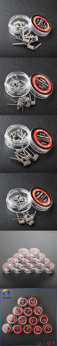 RDA prebuild coil Clapton Alien Tiger quad hive Twisted Flat twisted Mix twisted staircase Heating Resistance Coil for vape