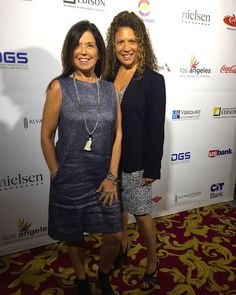 Producer & President of @conlincotv Sheila Conlin along side the President of @CL22Productions Cynthia Lopell at the Latino Business Awards & Business Matchmaking Event put on by the Los Angeles Latino Chamber of Commerce! @latinochamberla