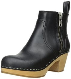 d55ab2d02c67 This Season s Top Clogs     swedishhasbeens zip ankle booties via  amazon  Casual Chic
