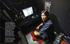 More than one in three people are employed as temporary workers in Japan today. At least 2,700 people with irregular jobs live in internet cafes because they cannot afford to live in an apartment. (click image to read more by Shioho Fukada) #pulitzercenter #japan #lemonde