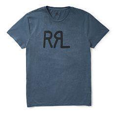 Cotton Jersey Graphic T-Shirt - RRL T-Shirts & Sweatshirts - Ralph Lauren Germany