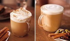 Healthiest Starbucks Drinks For Fall- I'll gladly drink the 380 calories of the pumpkin spice latte. That's my fave!