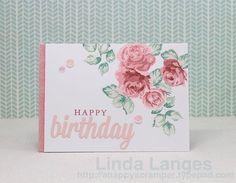 Altenew's Vintage Roses - Linda Langes