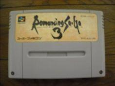 Romancing Saga 3 Super Famicom Japan NTSC-J Square Squaresoft Nintendo