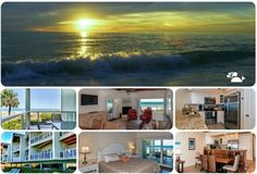 Enjoy Florida's Beachfront Living at Sun Place. Indian Shores Beach, Bradenton Beach, Sunken Living Room, Clean Beach, Beach Cottage Decor, Beach Town, Rental Property, Beach Cottages, Condominium