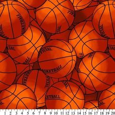 Basketball Fleece Throw Blanket with Finished Edges Sports 221851-7-AP 48 by 60  #Textiles #Sports
