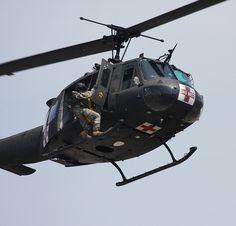 Bell UH-1 Huey - U.S. Army MedEvac Air Ambulance. 4th Plt. 507th Air Ambulance Fort Sill, 1973