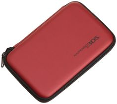 AmazonBasics Carrying Case for Nintendo  New 3DS XL 3DS XL  Red Officially Licensed by Nintendo -- Read more  at the image link. (Note:Amazon affiliate link) #nintendogames Nintendo Ds Charger, Nintendo Dsi Games, Nintendo Ds Console, Nintendo Ds Lite, Nintendo News, Playstation Games, Ds Xl, New 3ds