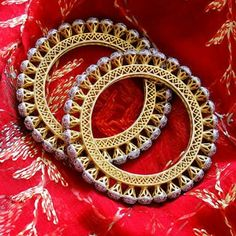 Where Sell Gold Jewelry Solid Gold Bangle, Diamond Bangle, Bridal Bangles, Bridal Jewelry, Hand Jewelry, Gold Jewellery, Rajput Jewellery, Jewellery Designs, Fashion Jewellery