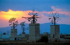 Molins in Mallorca - Balearic Islands, Spain.