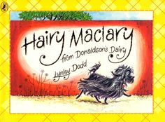 Hairy Maclary from Donaldsons Dairy - plus the rest of the series (and a special mention for Slinky Malinky). Emma goes through phases of asking for these rhyming books.. She loved them aged 2 and has rediscovered them at 3.5.