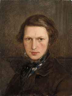Ford Madox Brown (1821-1893), painted c.1845, aged about 24.